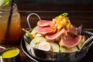 Image - Seared Tuna Salad - Fuego by Mana